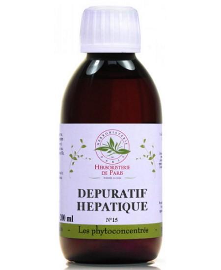 Herboristerie de Paris - Phyto concentré Dépuratif Hépatique - 200ml