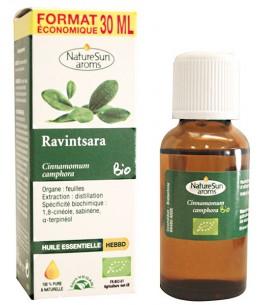 Naturesun'Aroms - Huile essentielle de Ravintsara Flacon compte gouttes - 30ml