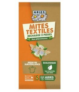 Aries - Piège à mites textile - 2 recharges anti mites Espritphyto