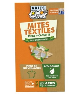 Piège à mites textile Mitbox - Aries cassette plus piège Espritphyto