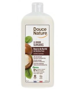 Douce Nature - Crème douche surgras à l'huile de karité - 1 litre