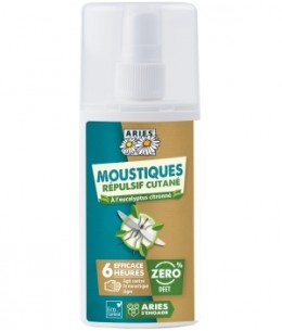 Aries - Spray Anti Moustiques répulsif cutané - 100 ml