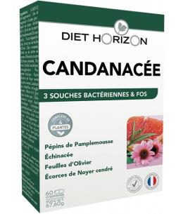 Candinacée Solution Candida - 60 comprimés - Diet Horizon contre les candidas Espritphyto
