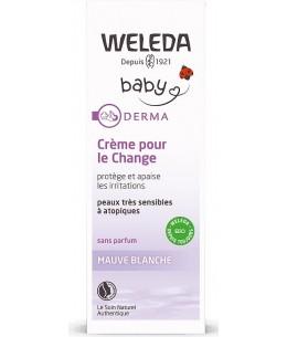 Weleda - Crème pour le change bébé à la Mauve blanche - 50 ml