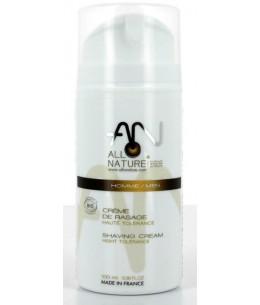 AlloNature - Crème de Rasage au savon d'alep - 100 ml