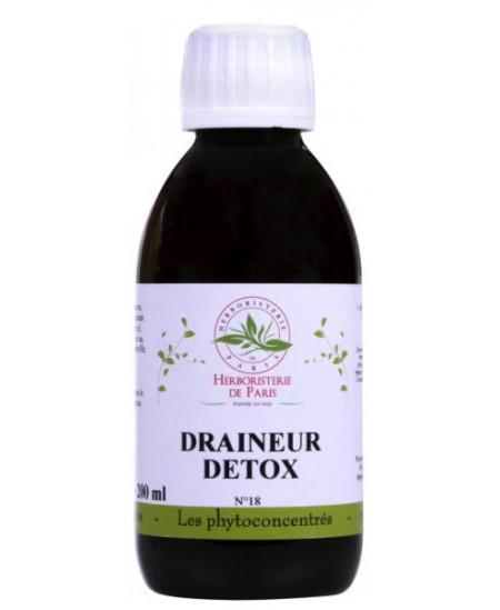 Phyto concentré Draineur Détox - 200ml - Herboristerie de Paris cure inter saison Espritphyto