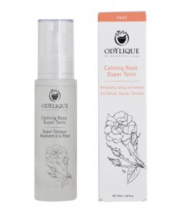 Odylique - Lotion Super Tonique Apaisant à la Rose 50ml peaux sensibles Espritphyto