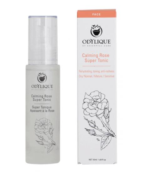 Odylique - Lotion Super Tonique Apaisant à la Rose 50ml