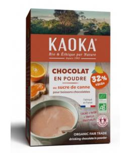 Kaoka - Chocolat en Poudre bio 32% de cacao - 400 gr