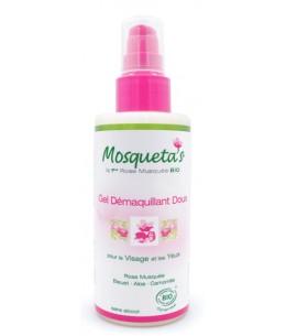 Gel démaquillant doux visage et yeux - 150 ml - Mosqueta's lisse et démaquille en douceur espritphyto