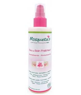 Mosqueta's - Eau de soin Fraicheur Aloe, Hamamélis - 200 ml nettoie et rafraichit Espritphyto