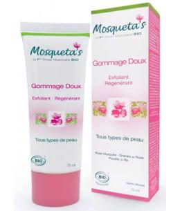 Gommage doux à la Rose Musquée et Poudre de Riz - 75 ml - Mosqueta's gommage naturel Espritphyto