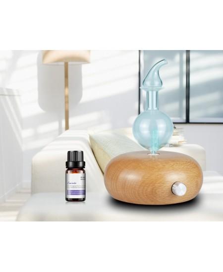 Diffuseur d'huiles essentielles électrique par nébulisation avec LED 7 couleurs à froid sans chaleur Espritphyto