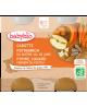 Babybio  Petits Pots Carottes Potimarron Pomme Canard fermier du Poitou dès 8 mois 2x200g