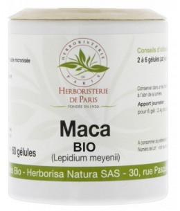 Maca Racine Bio 350mg - 60 gélules - Herboristerie de Paris ménopause vigueur Espritphyto