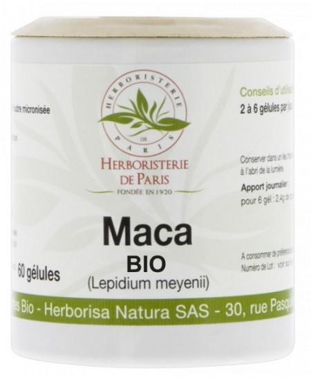 Herboristerie de Paris - Maca Racine Bio 350mg - 60 gélules
