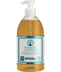 Savon liquide à l'huile essentielle de Lavandin - 500 ml - L'artisan Savonnier Hygiène soin des mains Espritphyto