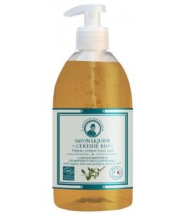 Savon liquide Eucalyptus et Menthe - 500 ml - L'artisan Savonnier Hygiène des mains et du corps Espritphyto