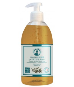 Savon liquide sans parfum et sans allergène - 500 ml - L'artisan Savonnier Hygiène mains et corps sensible et réactif