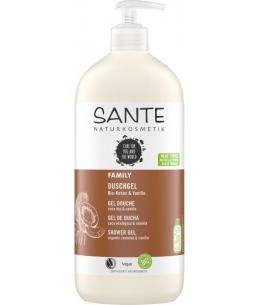 Gel douche Vanille et Coco 950 ml - Sante produit family certifié Natrue Espritphyto