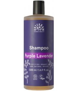 Urtekram Shampooing Purple Lavender cheveux normaux et secs 500 ml