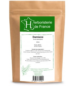 Herboristerie de Paris - Damiana feuille coupée - 100g