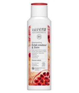 Shampooing Eclat Couleur et Soin 250 ml Lavera shampoing cheveux colorés Espritphyto