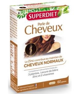 Perle de cheveux - 60 capsules - Super Diet nutrition capillaire Espritphyto
