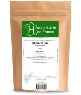 Herboristerie de Paris - Romarin feuille BIO - 100g