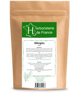 Herboristerie de France - Tisane Allergies - 30 gr