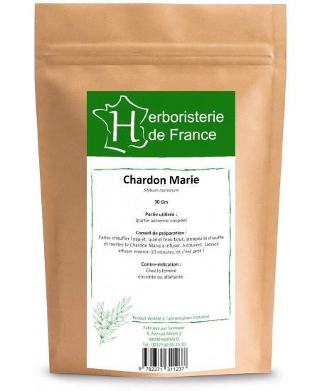 Herboristerie de France - Tisane Chardon Marie - 30 gr