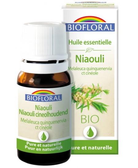 Niaouli - 10 ml - Biofloral huile essentielle bio et pure Espritphyto