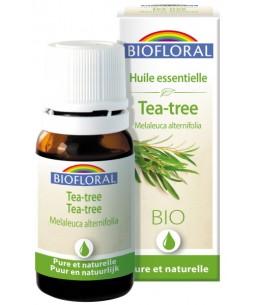 Biofloral - huile essentielle bio d'Arbre à thé - 10 ml action antiseptique Espritphyto