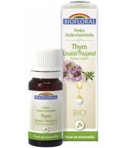 Perles d'huile essentielle de Thym thujanol - 20 ml - Biofloral défenses naturelles Espritphyto