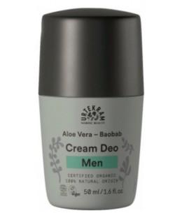 Urtekram - Déodorant homme baobab aloe vera 50ml controle la transpiration et les mauvaises odeurs Espritphyto