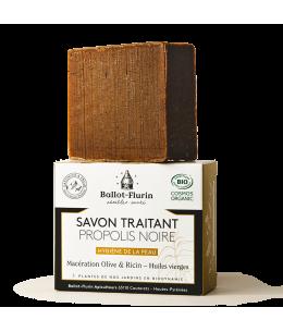 Ballot Flurin - Savon Traitant Propolis Noire - 100 gr