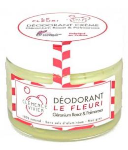 Clemence & Vivien - Baume déodorant vegan  Le Fleuri - 50 gr