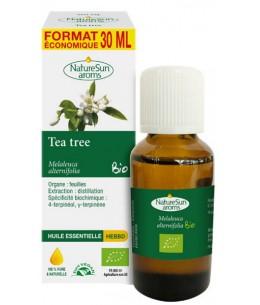 Naturesun' Aroms Huile essentielle de Tea Tree bio Flacon compte gouttes 30ml