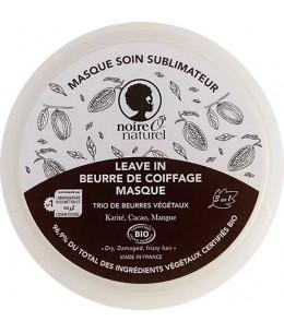 Masque soin sublimateur Cacao Mangue Karité cheveux frisés à crépus - 200 ml - Noire O Naturel super hydratant Espritphyto