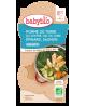 Babybio - Bol Menu du jour Pomme de terre Epinards Saumon Dès 8 mois 2 x - 400 gr
