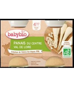 Babybio - Petits pots Panais 2x130gr - dès 4 mois