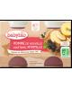 Babybio - Petits pots Pommes Myrtilles 2x130gr - dès 4 mois
