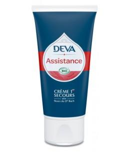 Crème Assistance 1r secours urgence fleurs de bach - 50 Ml - Deva crème cosmétique bio Espritphyto