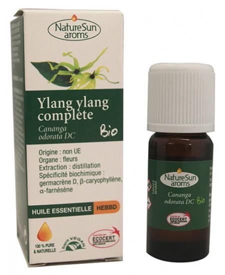 Naturesun' Aroms - Huile Essentielle d'Ylang Ylang bio 10ml parfum d'ambiance  Espritphyto