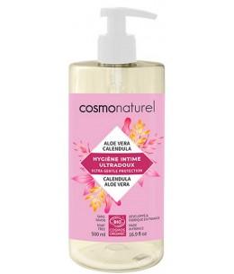 Cosmo Naturel - Gel intime Ultra doux calendula aloe vera 500ml toilette intime bio Espritphyto