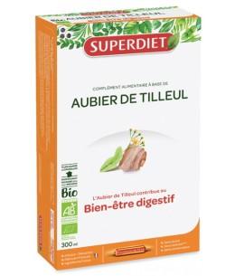 Aubier de Tilleul Bio 20 ampoules de 15ml Superdiet Espritphyto dépuratif articulaire