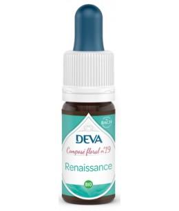 Deva - Composé Floral Bio - Renaissance N°19 - 10 ml