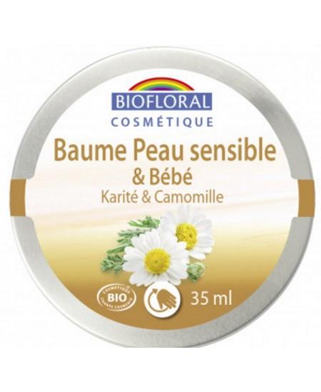 Biofloral - Baume peau sensible et bébé Karité et Camomille - 35 ml  baume protecteur Espritphyto