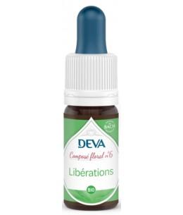 Deva - Composé Floral Bio - Libérations N° 6 - 10 Ml désaccoutumance Espritphyto