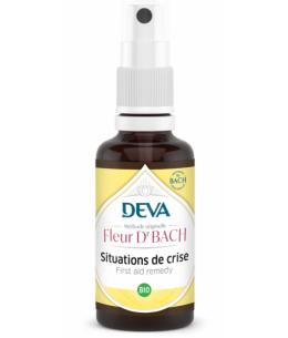 Elixir Floral Bach Situation de Crise - Deva rescue spray de 10ml Espritphyto
